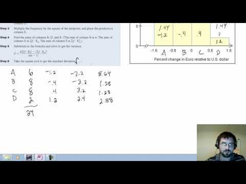 Estimating standard deviation of grouped data.mp4