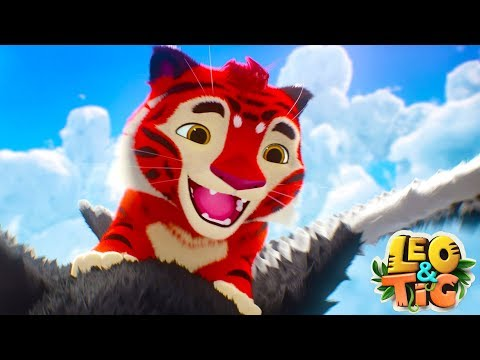 Leo and Tig - Episode 9 - The Eagle Rock - Animated movie for kids 2018 - Moolt Kids Toons