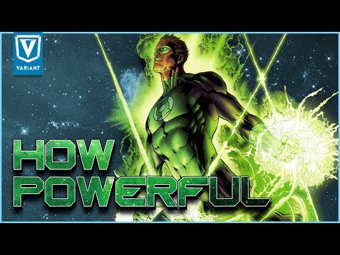 How Powerful Is Green Lantern? (hal Jordan)