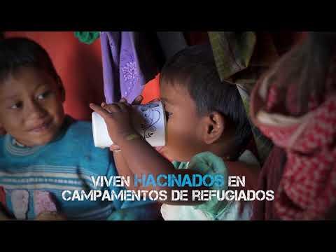 El monzón, la última amenaza para los niños rohingya