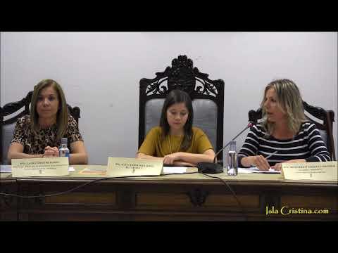 Primer Pleno del Concejo Local de Infancia y la Adolescencia celebrado en Isla Cristina