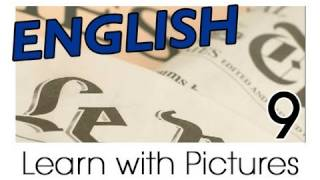 English Bookstore Vocabulary, Learn English Vocabulary With Pictures