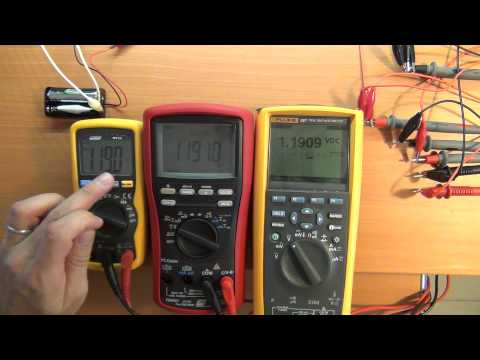 Multimeter Calibration - Some future testing..