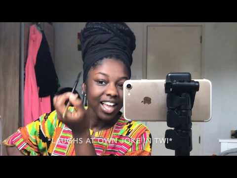 A Twi Makeup Tutorial 🌝🇬🇭 || 1080p || SUBTITLES ARE AVAILABLE FOR THE NON-TWI SPEAKERS