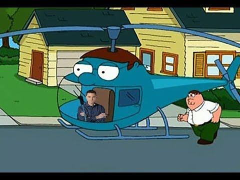 ben shapiro flies the peter-copter