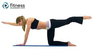 Toning Lower Back Workout Routine - Best Lower Back Exercises At Home With Fitness Blender