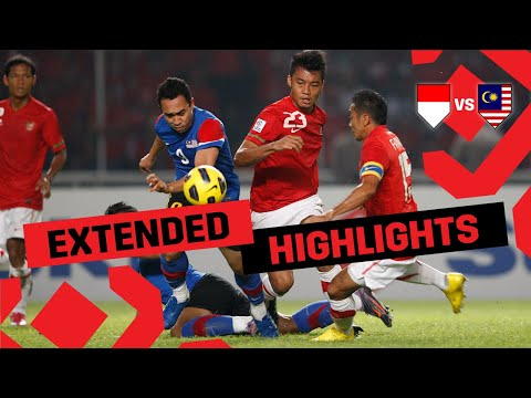 Indonesia vs Malaysia | Extended Highlights | #AFFSuzukiCup 2010 Final 2nd Leg
