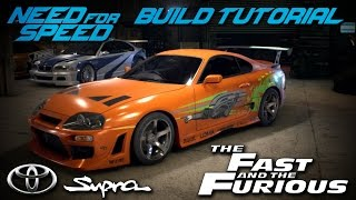 Nonton Need for Speed 2015 | The Fast & The Furious Brian's Toyota Supra Build Tutorial | How To Make Film Subtitle Indonesia Streaming Movie Download