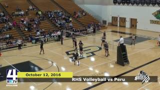 RHS Volleyball vs. Peru Tigers