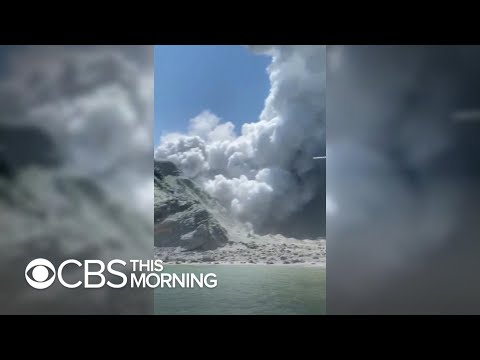 Video - Νέα Ζηλανδία-ηφαίστειο: Δύτες αναζητούν πτώματα στα ύδατα γύρω από το νησί Γουάιτ