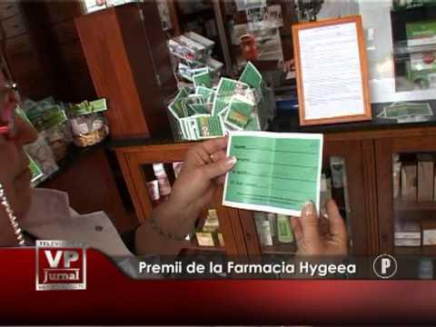 Premii de la Farmacia Hygeea