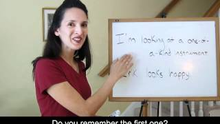 Present Progressive, Verb Tenses in English Lesson 3
