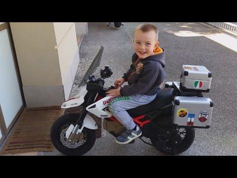 Peg Perego DUCATI MOTO Polaris Ranger Supermoto , MOTO kids, off road, Super Alex driver per bambini