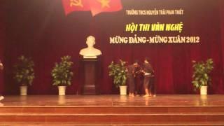 [7.1.2012] Hành Trình Trên Đất Phù Sa - 9a6 [2011-2012] [THCS Nguyễn Trãi]