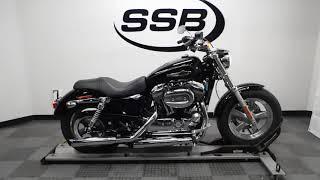 10. 2015 Harley Davidson XL1200C Sportster 1200 Custom– used motorcycles  for sale– Eden Prairie, MN