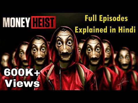 Money Heist Season 1 Explained in Hindi | Lacasa De Papel  Season 1 Explained Hindi Detailed