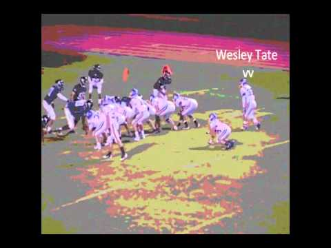 Wesley Tate High School Highlights video.