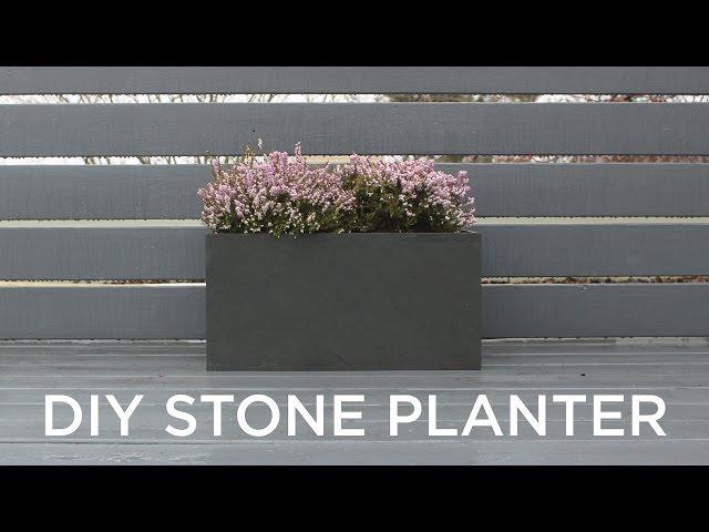 男の中の男プランター!見た目は硬派ながら植物に優しいDIY作品!