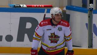 Kunlun RS 2 Dynamo Msk 5, 16 January 2018 Highlights