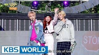 Video Triple H (트리플 H) - 365 FRESH [Music Bank / 2017.05.19] download in MP3, 3GP, MP4, WEBM, AVI, FLV January 2017