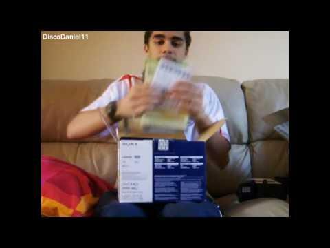 Unboxing Sony HDR-SR10E - (REUPLOAD - June 2008)