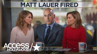 Natalie Morales Addresses Former 'Today' Co-Worker Matt Lauer's Firing: 'I Am In Shock'