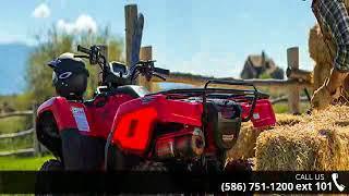 9. 2018 Honda FourTrax Rancher 4x4 DCT IRS EPS ATV Rec/Utili...