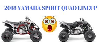 5. REACTING TO YAMAHA'S 2018 SPORT ATV LINEUP