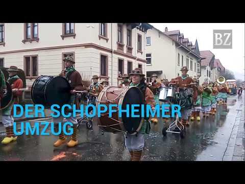 Schopfheim: Der Schopfheimer Fasnachtsumzug