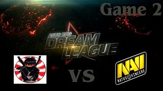 Na'Vi vs BU, game 2