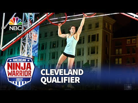 Jesse Labreck at the Cleveland Qualifiers - American Ninja Warrior 2017