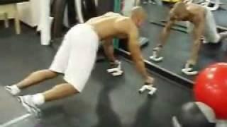 تمارين لتخلص من الكرش وتخفيف الوزن وشد العضلات