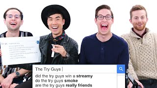 Video The Try Guys Answer the Web's Most Searched Questions | WIRED MP3, 3GP, MP4, WEBM, AVI, FLV Maret 2019