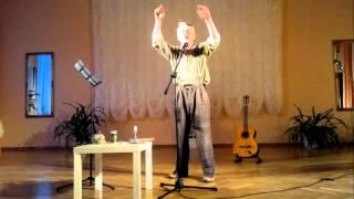 """Recital Stanisława Górki """"Ach, panie, panowie"""" – Kwiecień 2012"""