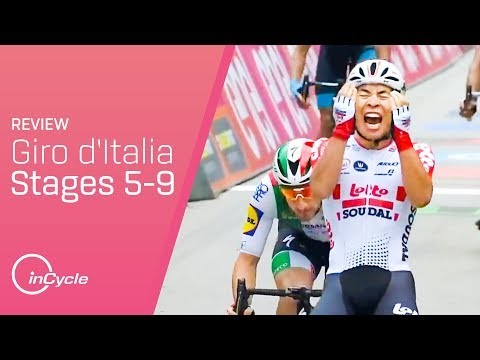 The 2019 Giro So Far | Stages 5-9 Review |  inCycle