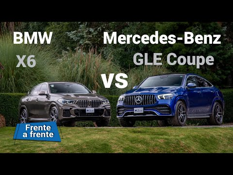 Mercedes GLE Coupé vs BMW X6