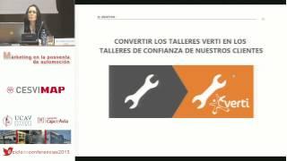 XI Jornada del Ciclo de Conferencias. 14/11/13. Ponencia de Esther González, de Verti.