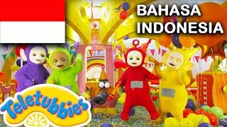 Video ★Teletubbies Bahasa Indonesia★ Pesta ★ Full Episode - HD | Kartun Lucu 2018 MP3, 3GP, MP4, WEBM, AVI, FLV Desember 2018