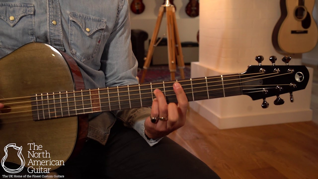 Skytop Grand Concert Acoustic Guitar Played By Daniel March
