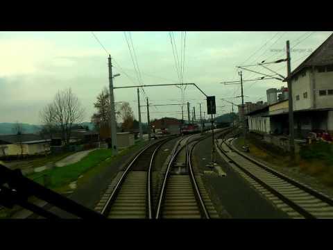 Pyhrnbahn - Führerstandsmitfahrt von Liezen - Selzthal nach Linz Hbf.