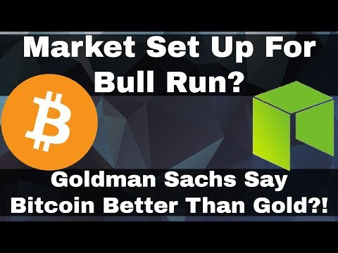 Crypto News | Market Set Up For A Run? End Of Korean FUD! Goldman Sachs Say Bitcoin Better Than Gold