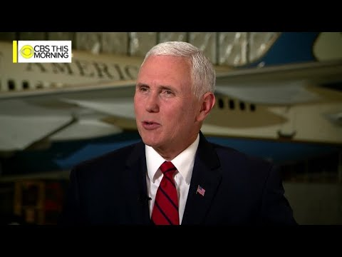 Full interview Vice President Mike Pence on CBS This Morning
