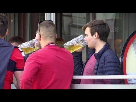 Euro 2016: «Όχι» στο αλκοόλ λέει η Γαλλία κοντά στα γήπεδα που γίνονται οι αγώνες