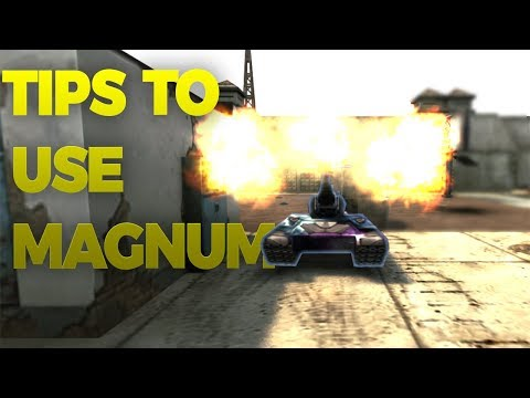 Tanki Online - TIPS TO USE MAGNUM | TRICKSHOTS AND SKILLS