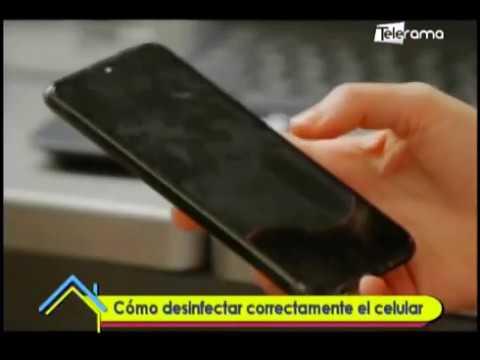 Cómo desinfectar correctamente el celular