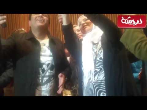 شاهد .. محمد فؤاد لطلاب عين شمس في حفل يوم الشهيد