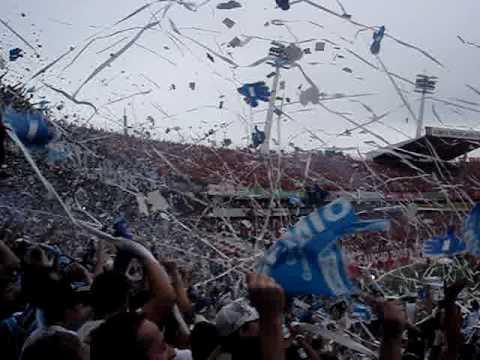GERAL DO GRÊMIO 2006. Entrada em campo no GRENAL beira rio - Geral do Grêmio - Grêmio
