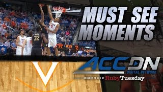 Atkins (VA) United States  city photos : UVA's Atkins Huge Block To Deny Cofer At The Rim | ACC Must See Moment