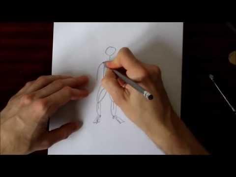 Trärchenkollektiv_Strichmännchen professionell zeichnen