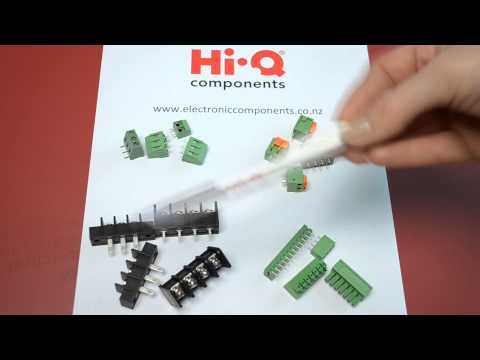 Hi-Q Components - Demonstration of Terminal Blocks